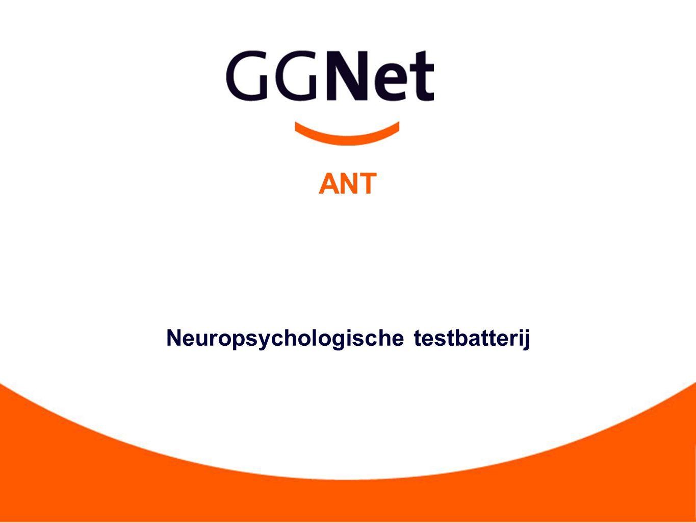 Neuropsychologische testbatterij