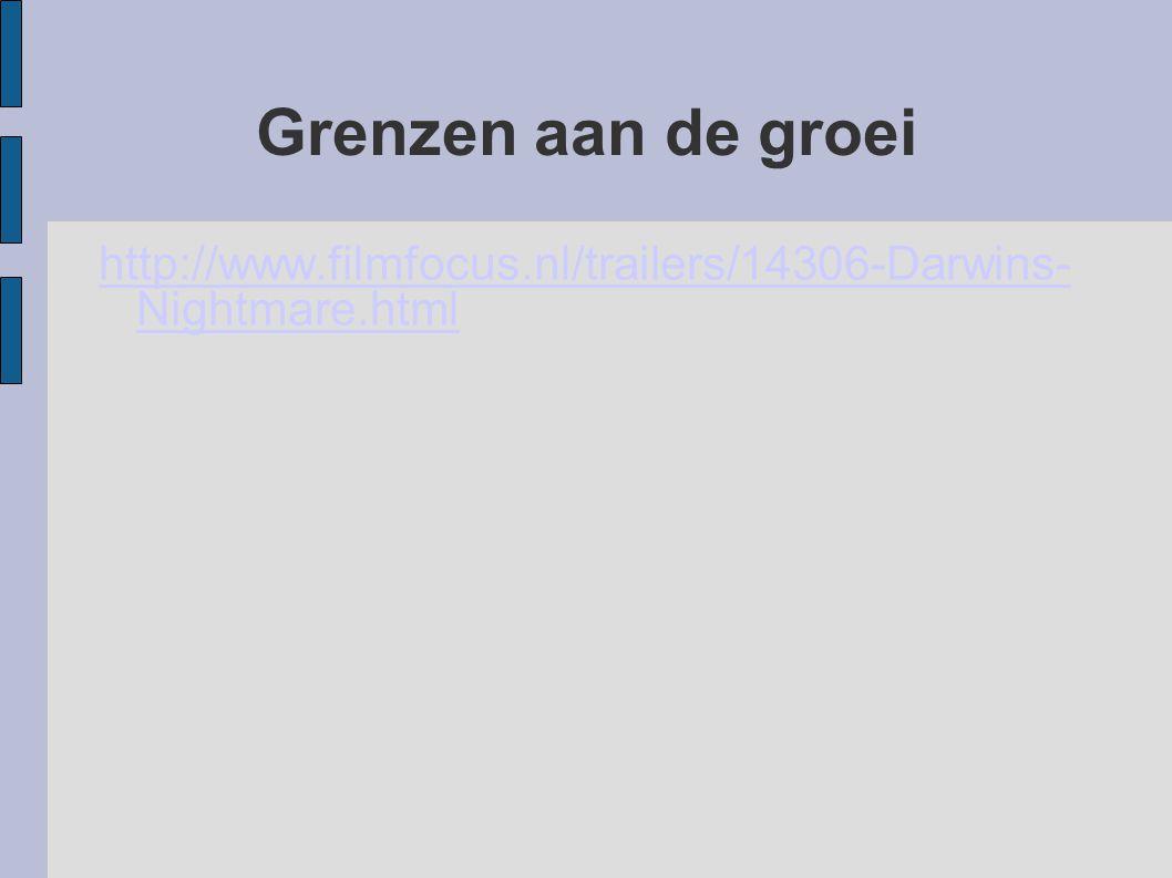 Grenzen aan de groei http://www.filmfocus.nl/trailers/14306-Darwins-Nightmare.html