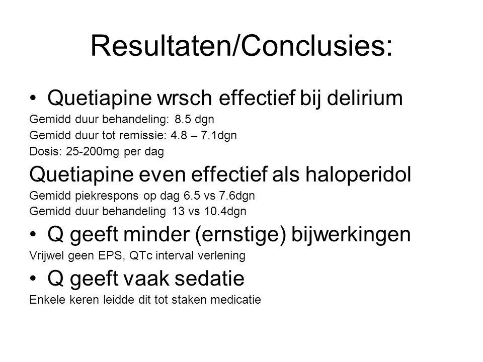 Resultaten/Conclusies: