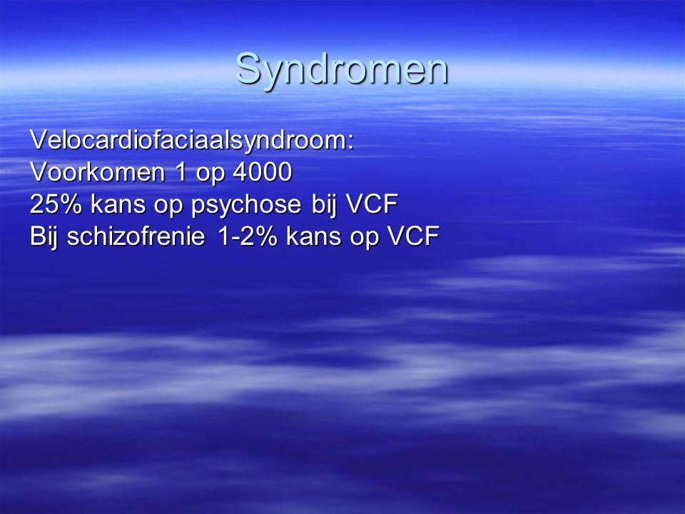 Syndromen Velocardiofaciaalsyndroom: Voorkomen 1 op 4000