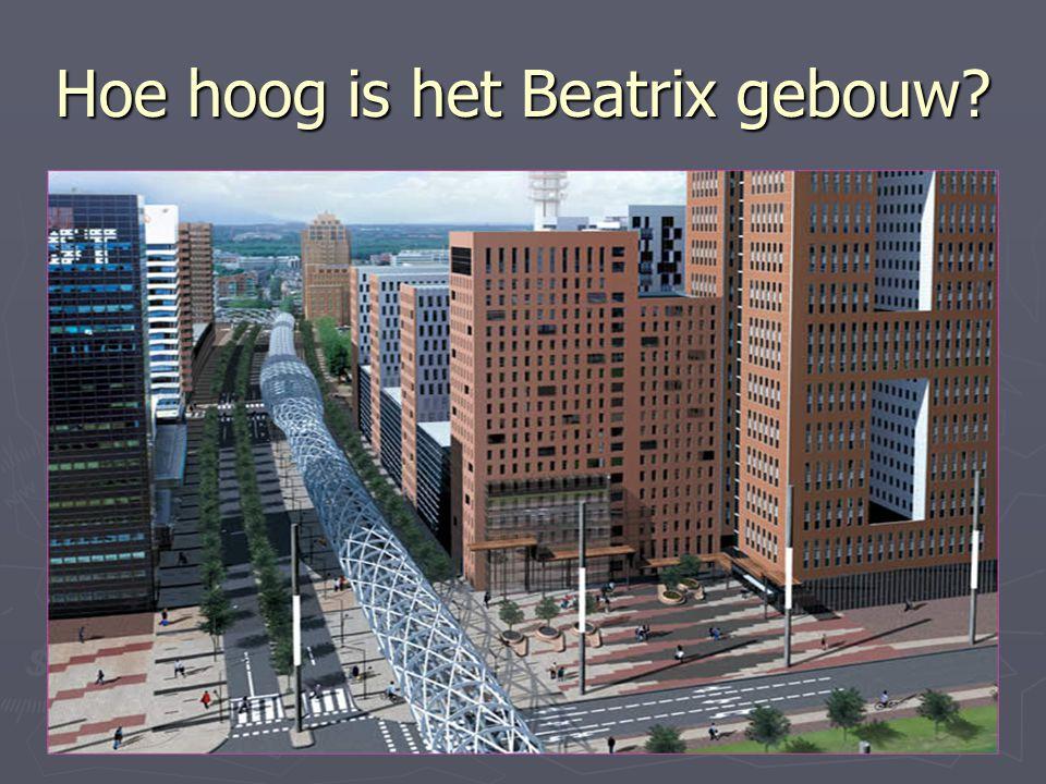 Hoe hoog is het Beatrix gebouw