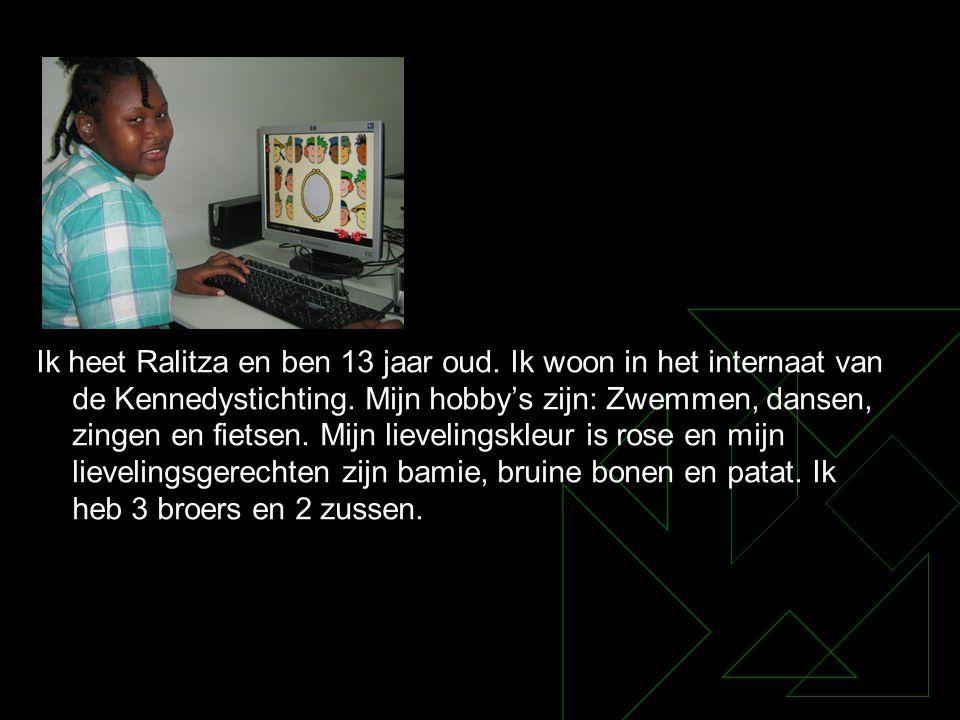 Ik heet Ralitza en ben 13 jaar oud
