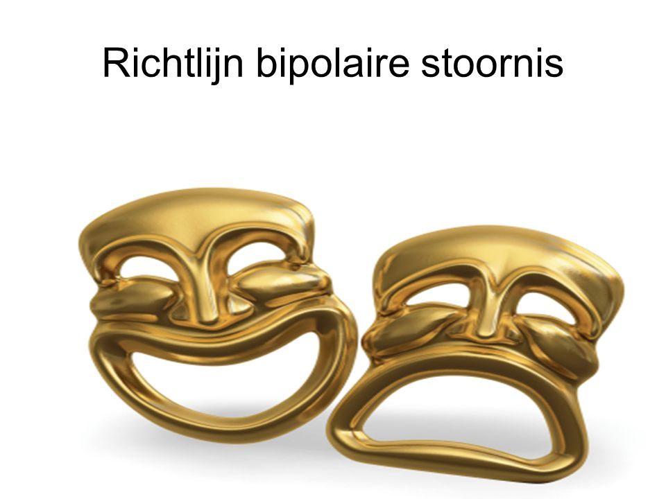Richtlijn bipolaire stoornis