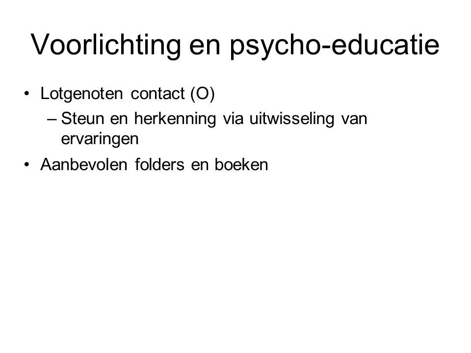 Voorlichting en psycho-educatie