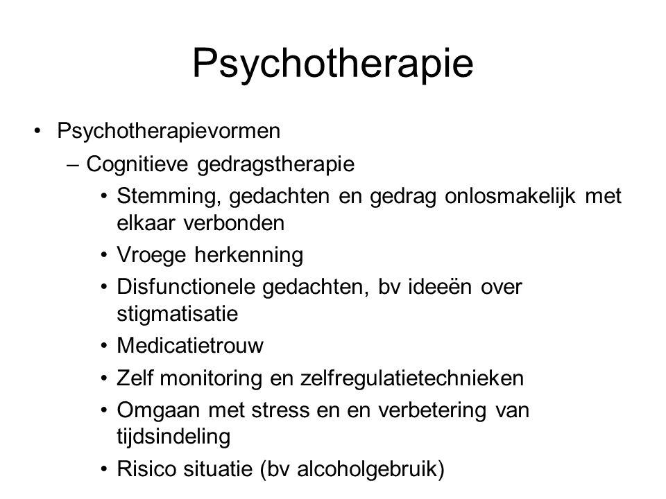 Psychotherapie Psychotherapievormen Cognitieve gedragstherapie