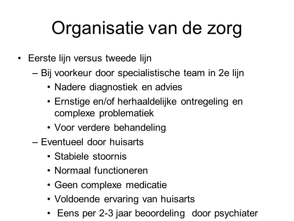 Organisatie van de zorg