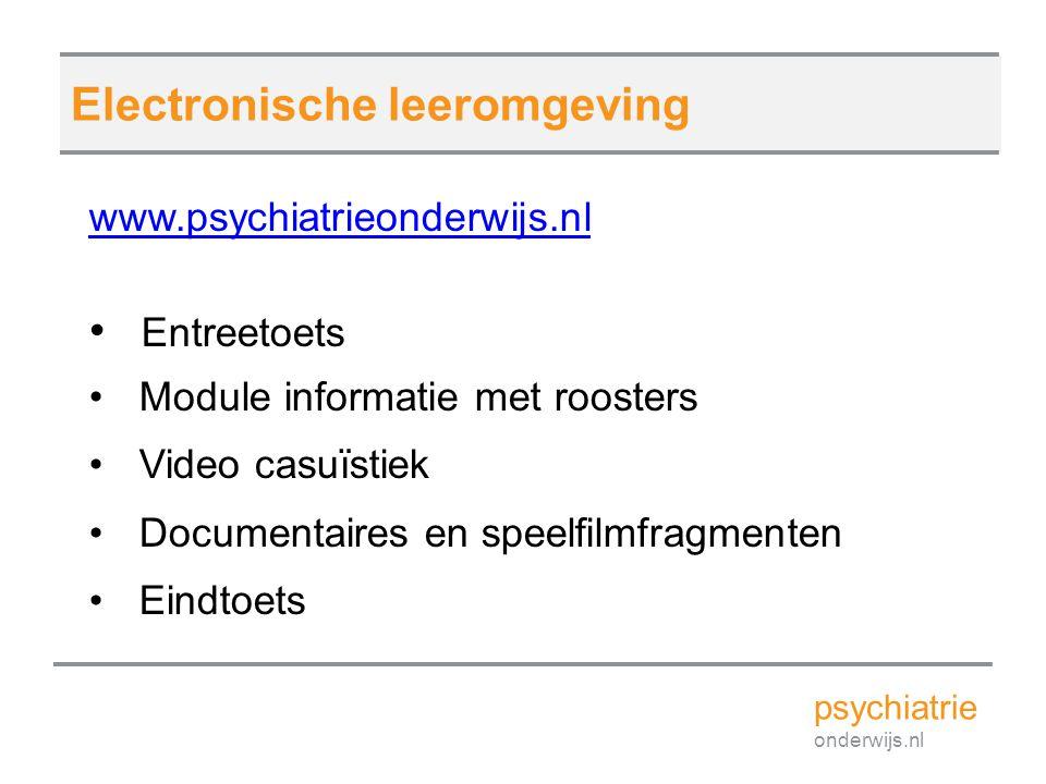Electronische leeromgeving