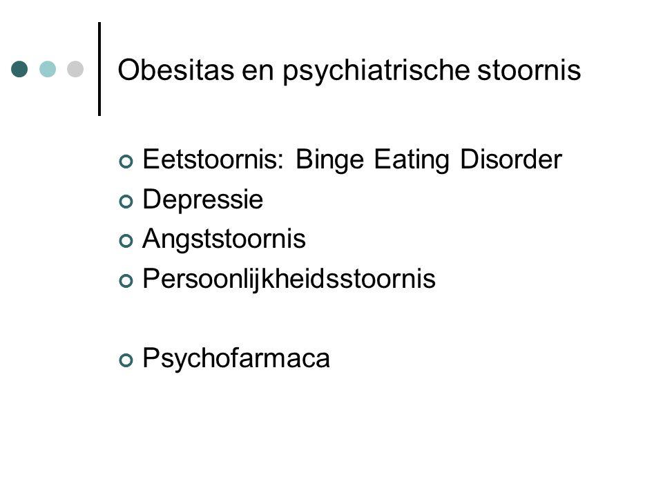 Obesitas en psychiatrische stoornis