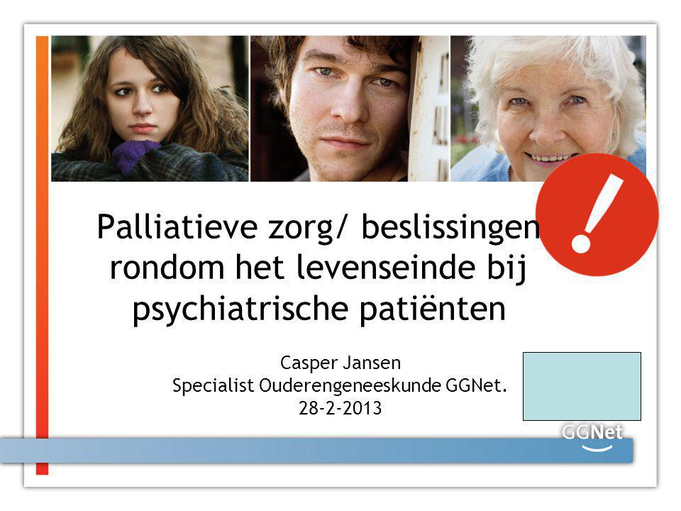 Casper Jansen Specialist Ouderengeneeskunde GGNet. 28-2-2013