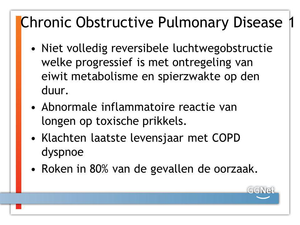 Chronic Obstructive Pulmonary Disease 1