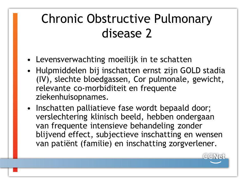 Chronic Obstructive Pulmonary disease 2
