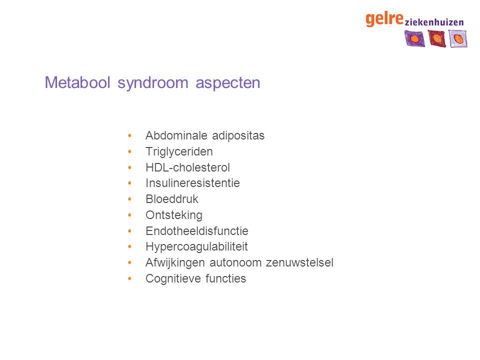 Metabool syndroom aspecten