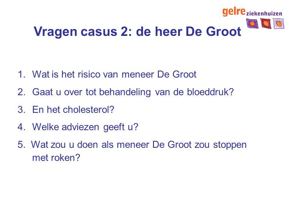 Vragen casus 2: de heer De Groot