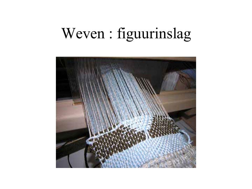 Weven : figuurinslag