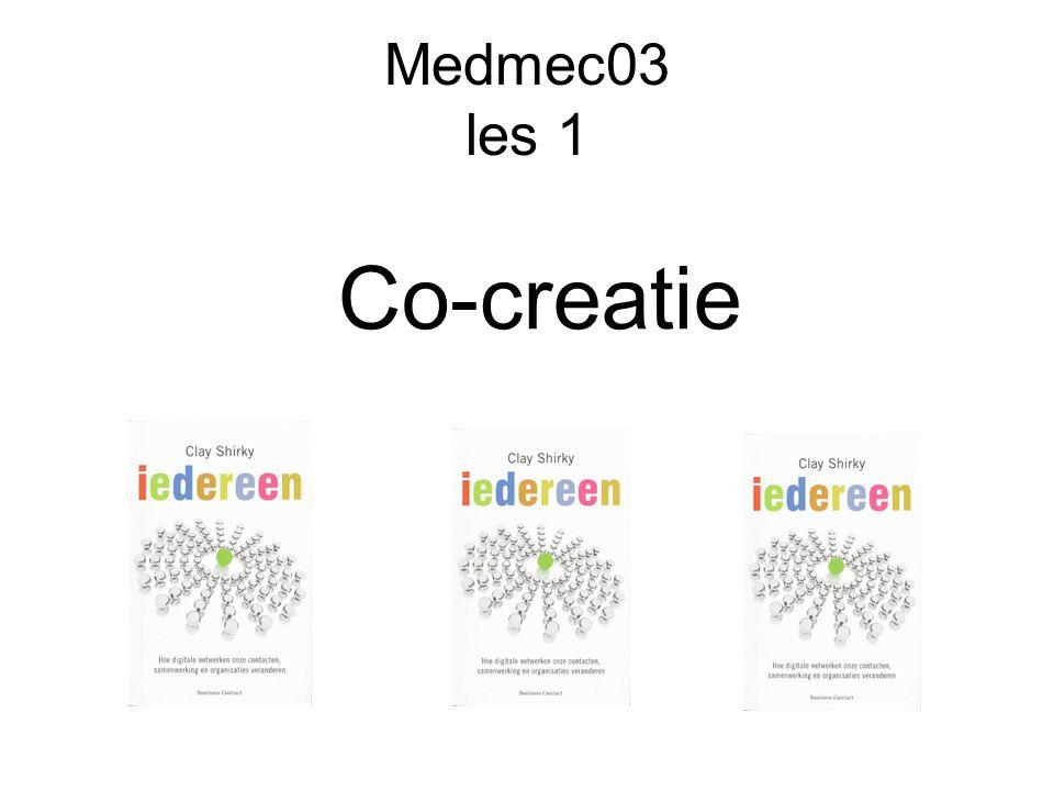 Medmec03 les 1 Co-creatie