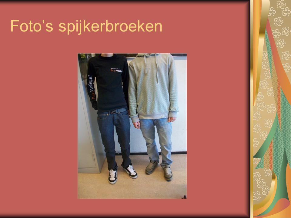 Foto's spijkerbroeken