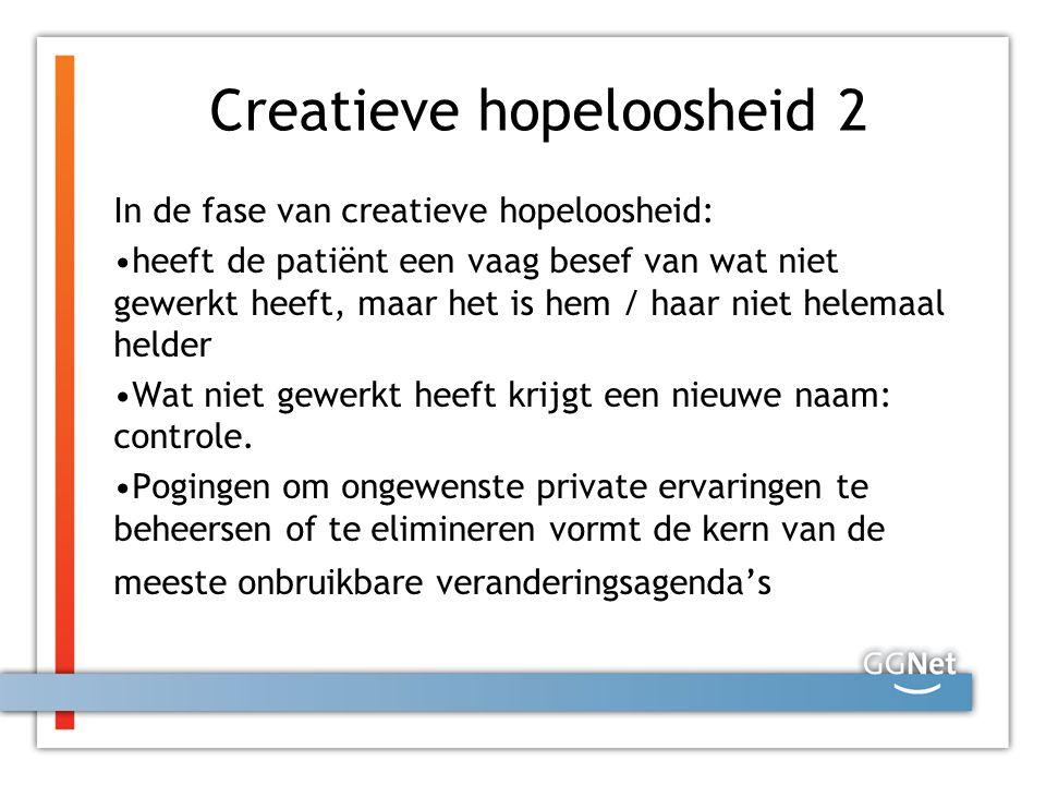 Creatieve hopeloosheid 2