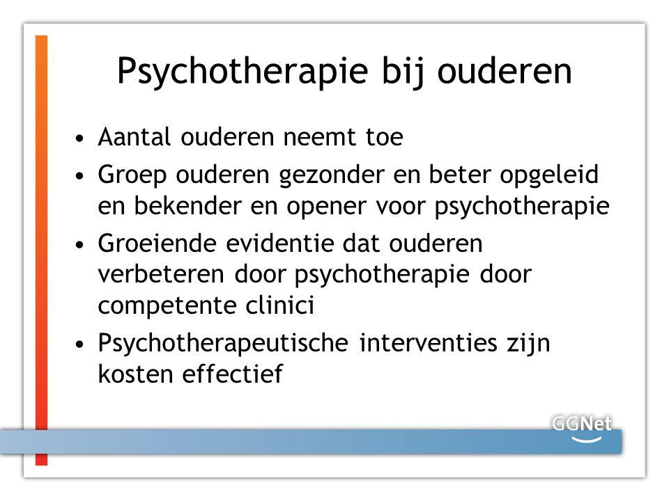 Psychotherapie bij ouderen
