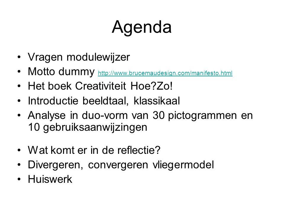 Agenda Vragen modulewijzer