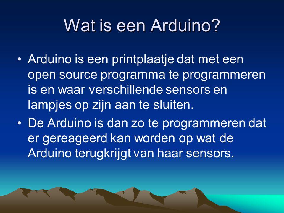 Wat is een Arduino
