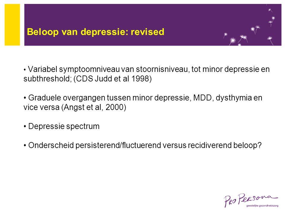 Beloop van depressie: revised
