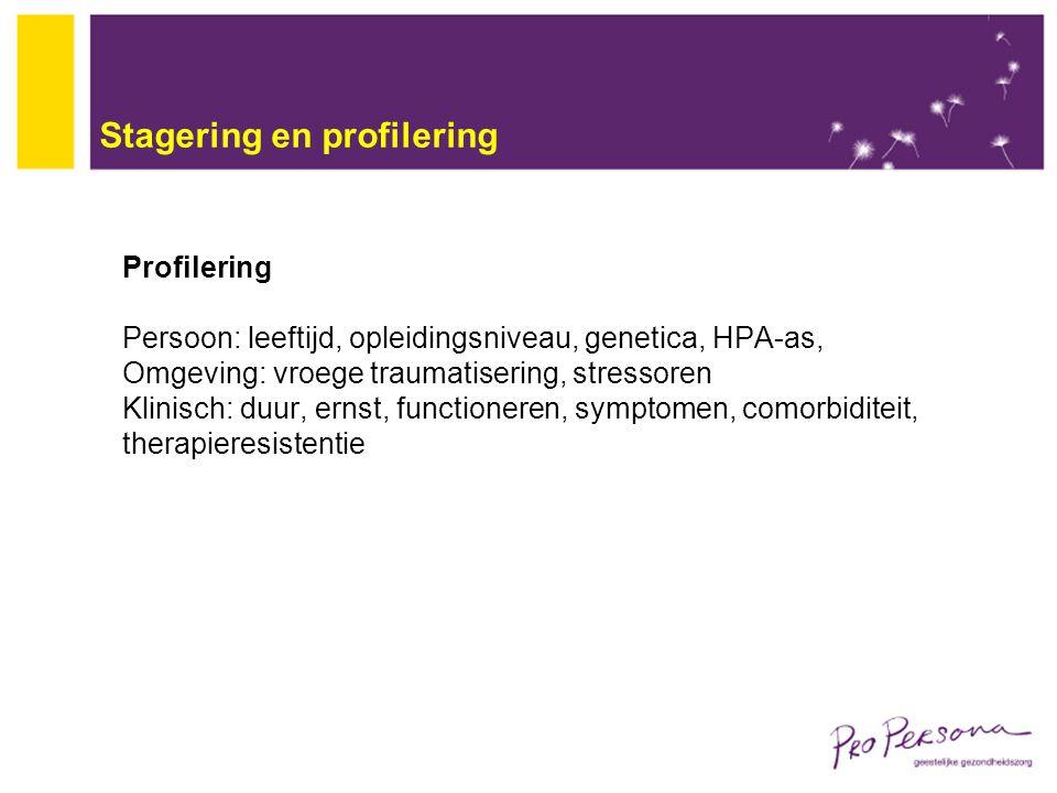 Stagering en profilering