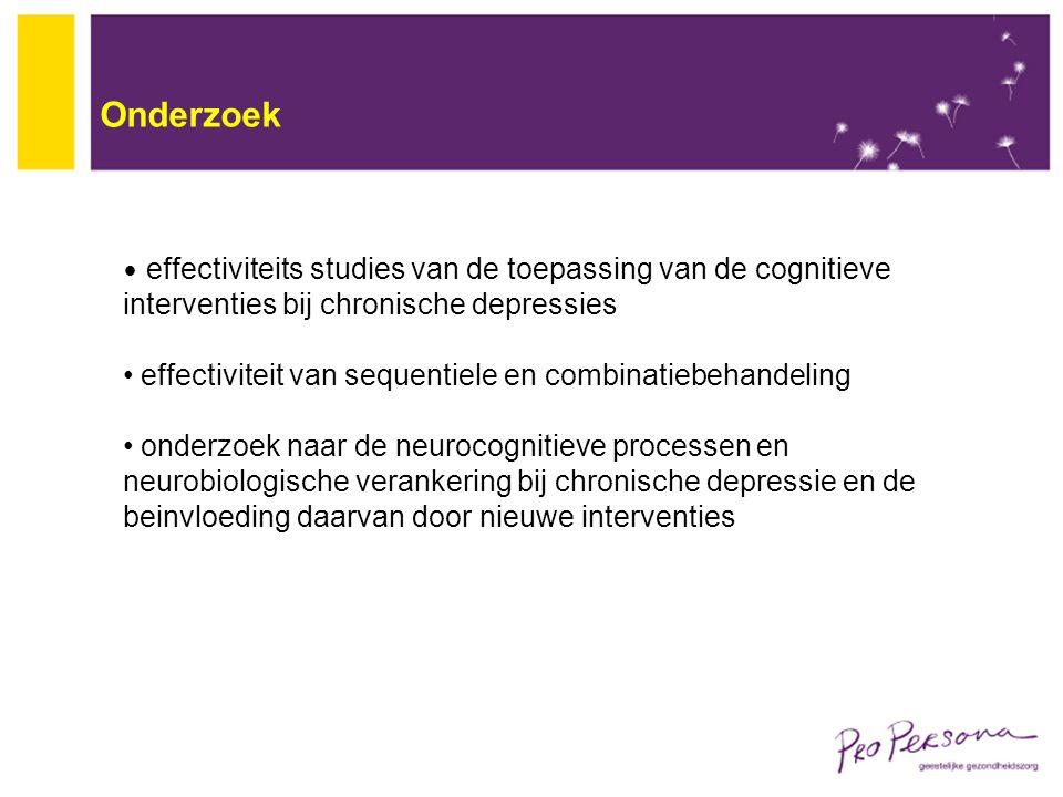 Onderzoek effectiviteit van sequentiele en combinatiebehandeling