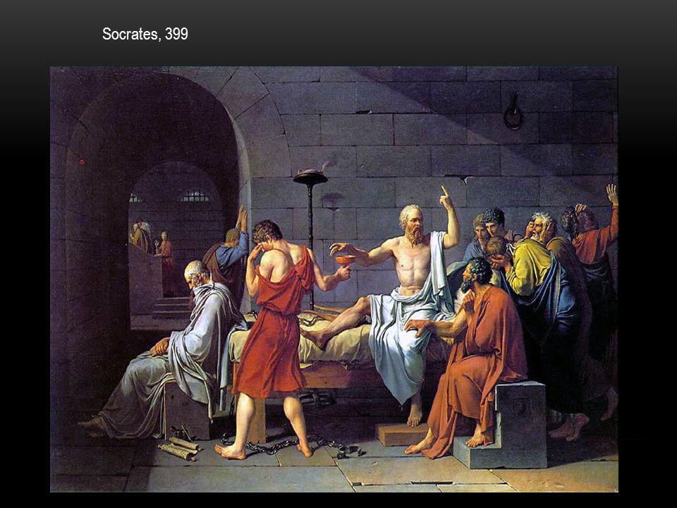 Socrates, 399 Wat zie je op deze afbeelding