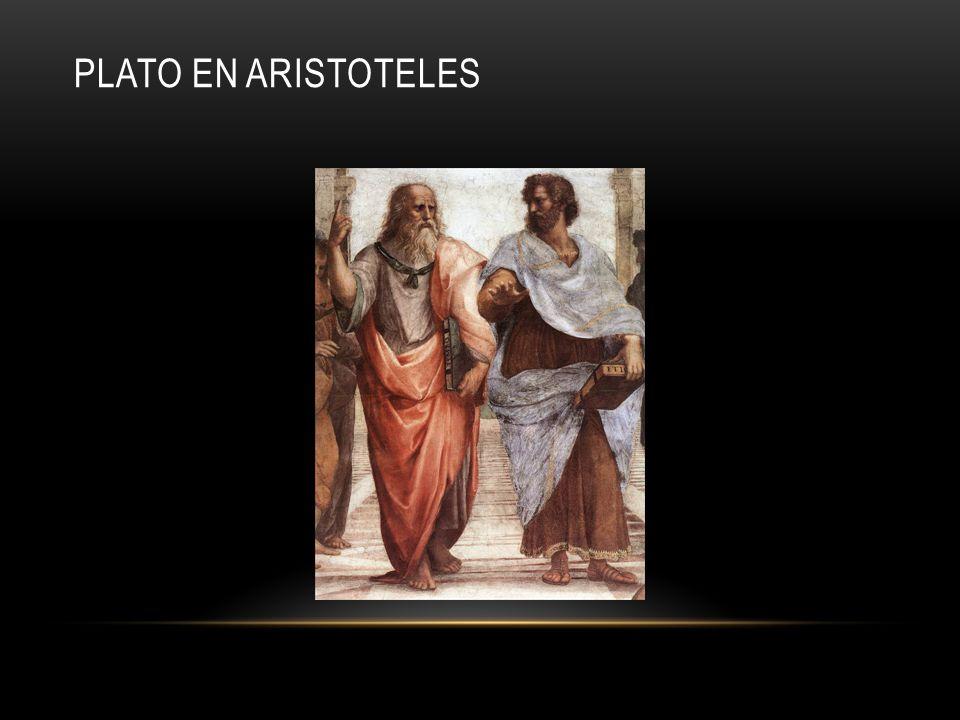 Plato en Aristoteles