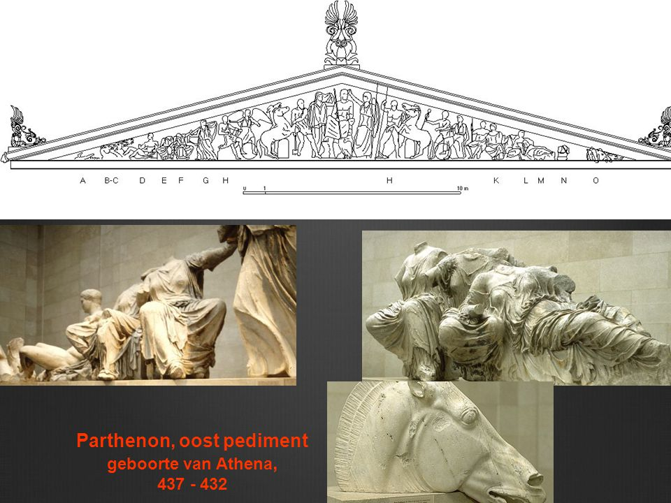Parthenon, oost pediment