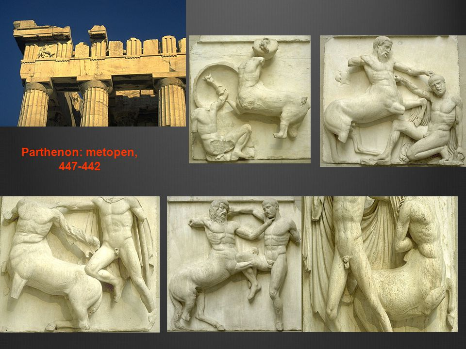 Parthenon: metopen, 447-442