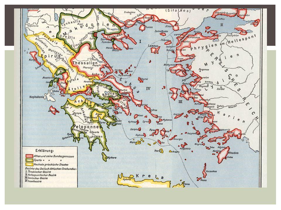 De Griekse wereld 431 v. Chr.