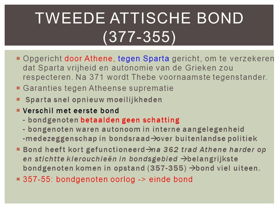 Tweede Attische Bond (377-355)