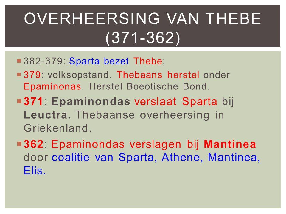 Overheersing van Thebe (371-362)