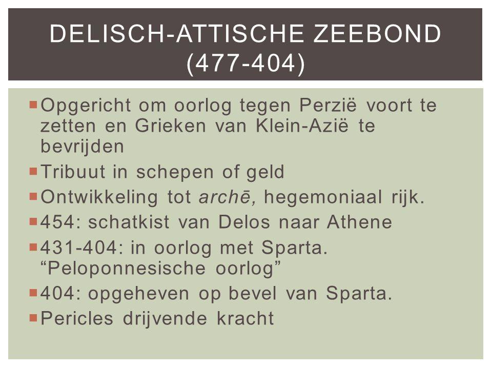 Delisch-Attische Zeebond (477-404)