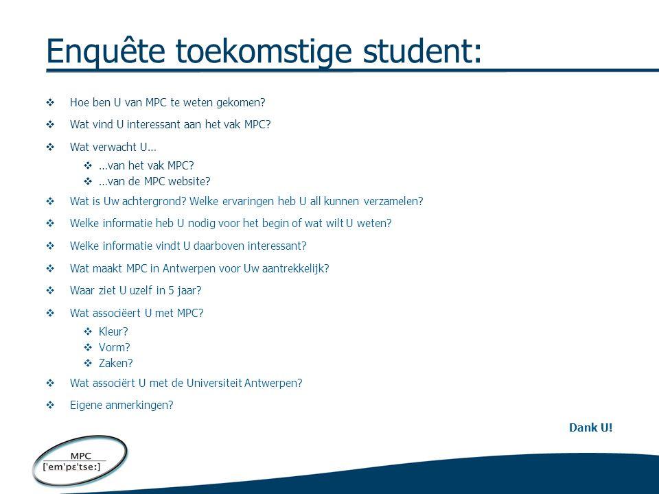 Voorbeeld van de Universiteit Ghent