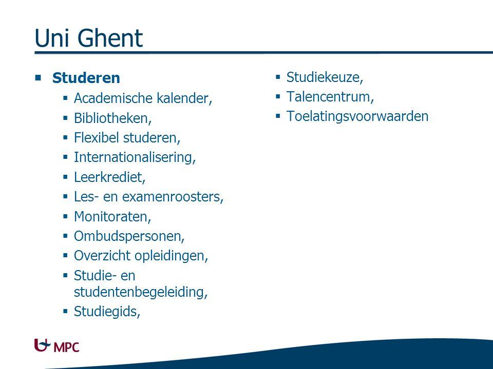 Uni Ghent Leven in Gent Cultuur, UGent Interactief Kinderopvang,