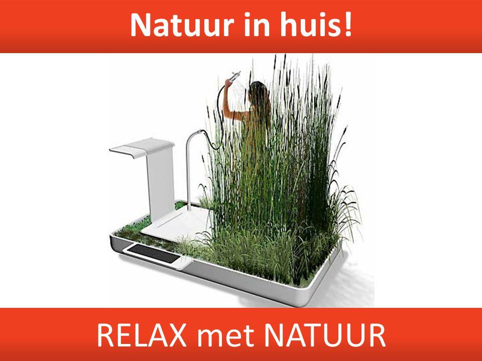 Natuur in huis! RELAX met NATUUR