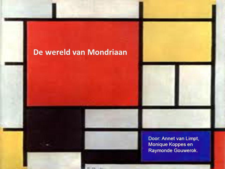 De wereld van Mondriaan