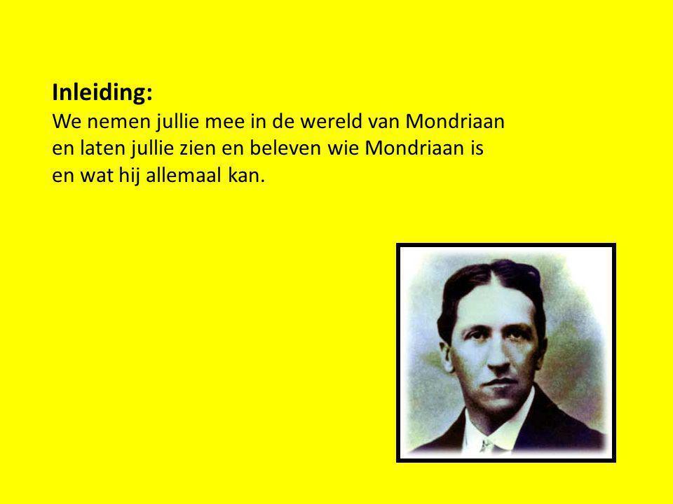 Inleiding: We nemen jullie mee in de wereld van Mondriaan