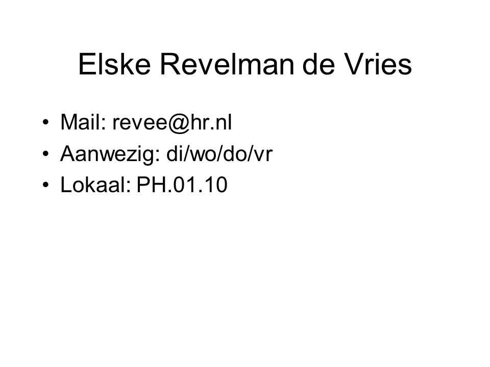 Elske Revelman de Vries