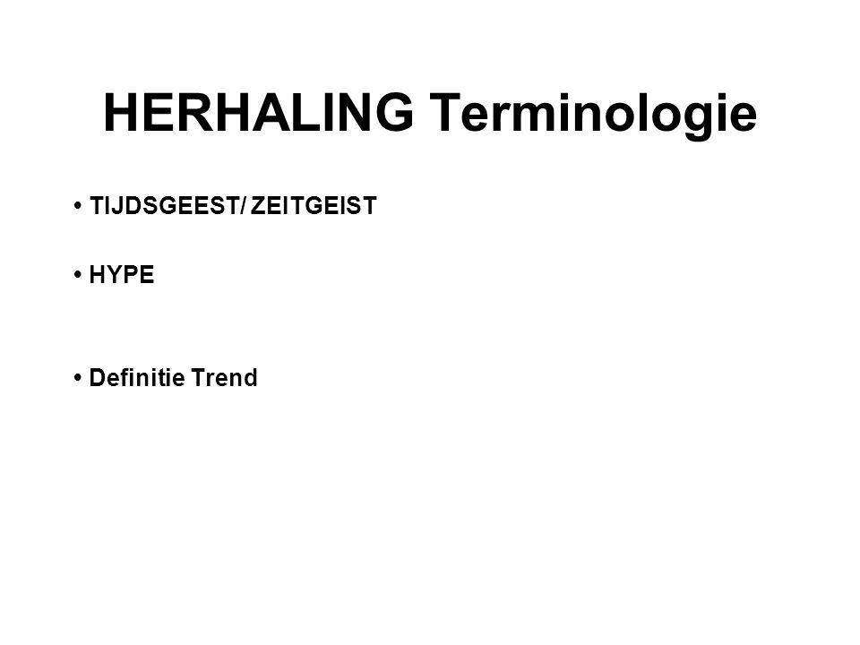 HERHALING Terminologie