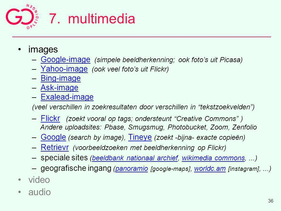 7. multimedia images video audio