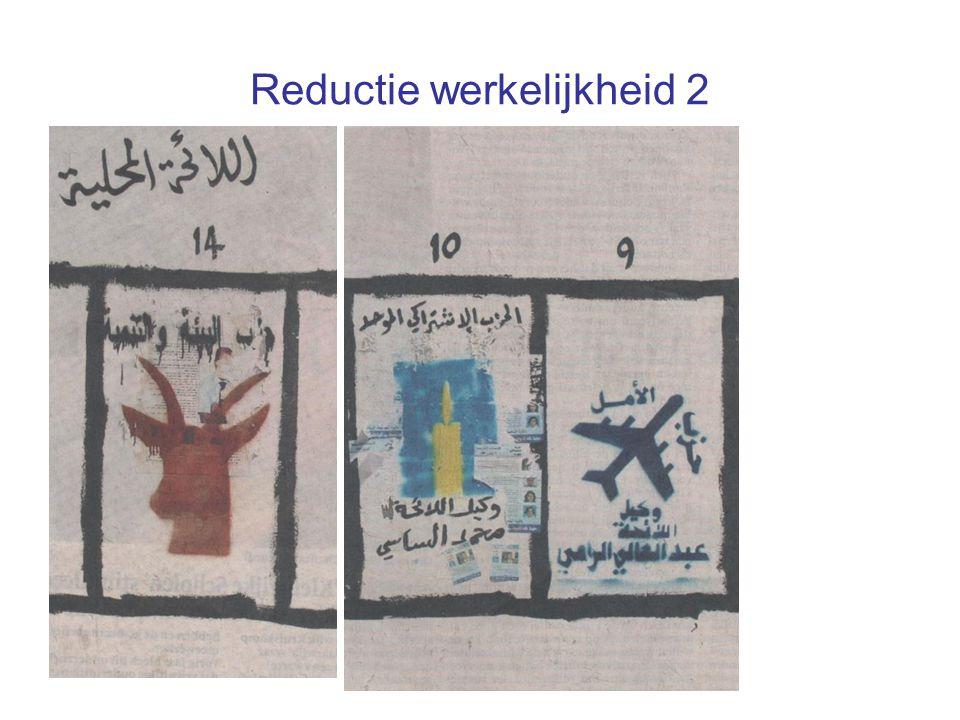 Reductie werkelijkheid 2