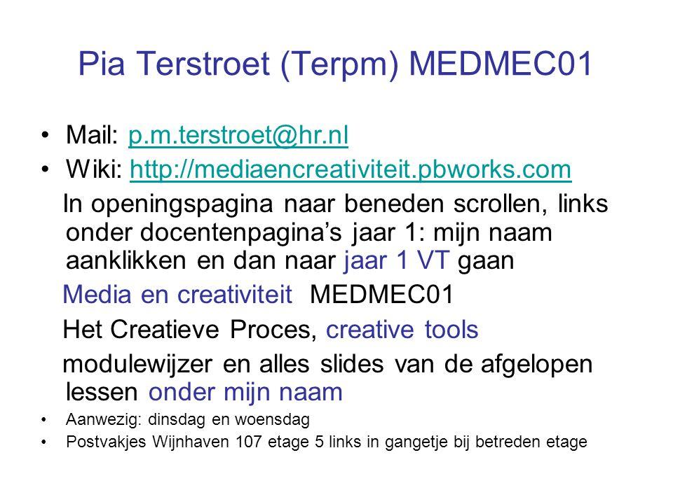 Pia Terstroet (Terpm) MEDMEC01