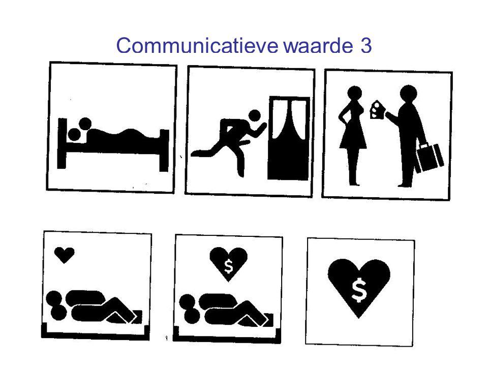 Communicatieve waarde 3