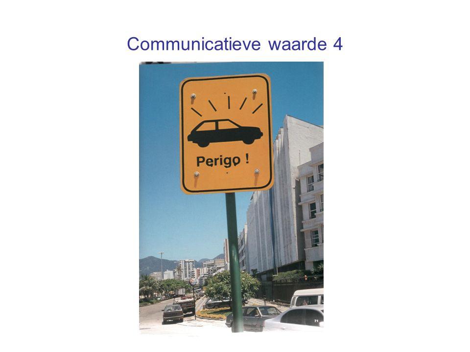 Communicatieve waarde 4