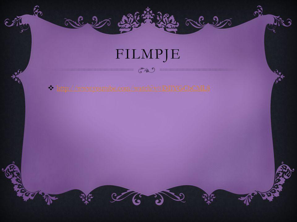 filmpje http://www.youtube.com/watch v=DIlYGCbCML8 Isa iris