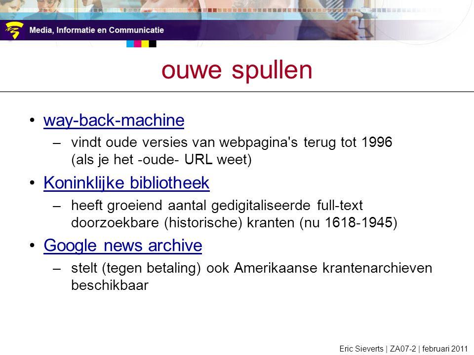 ouwe spullen way-back-machine Koninklijke bibliotheek