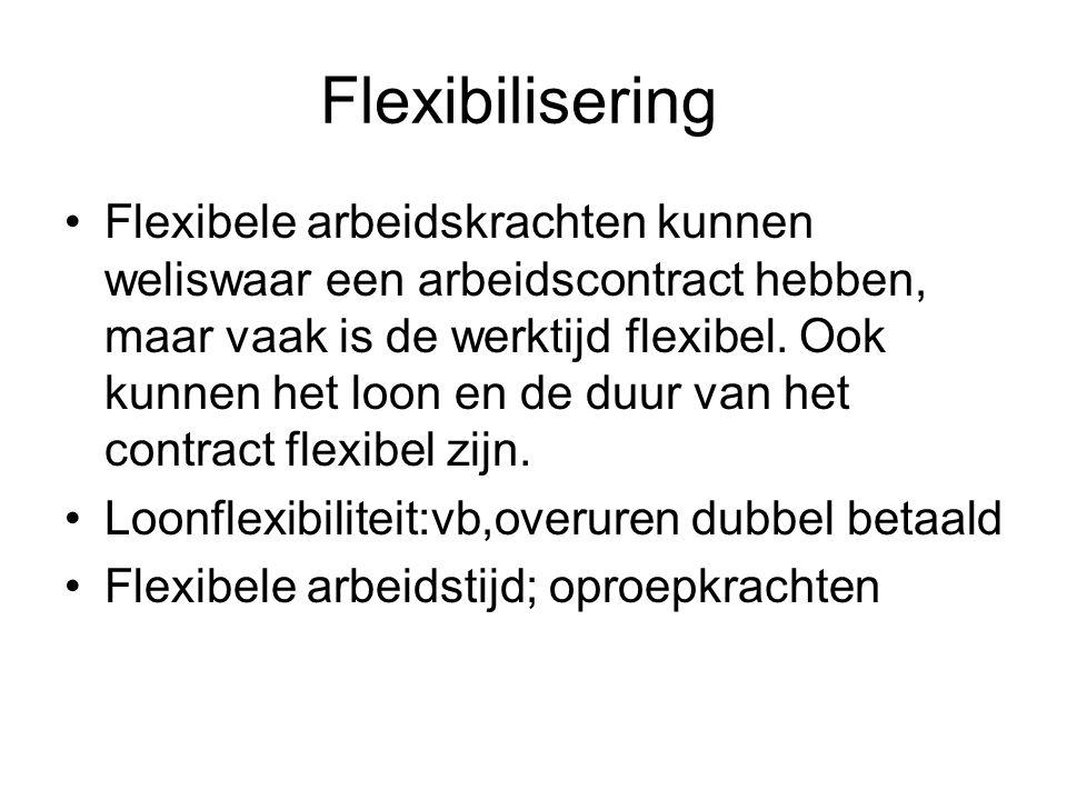 Flexibilisering